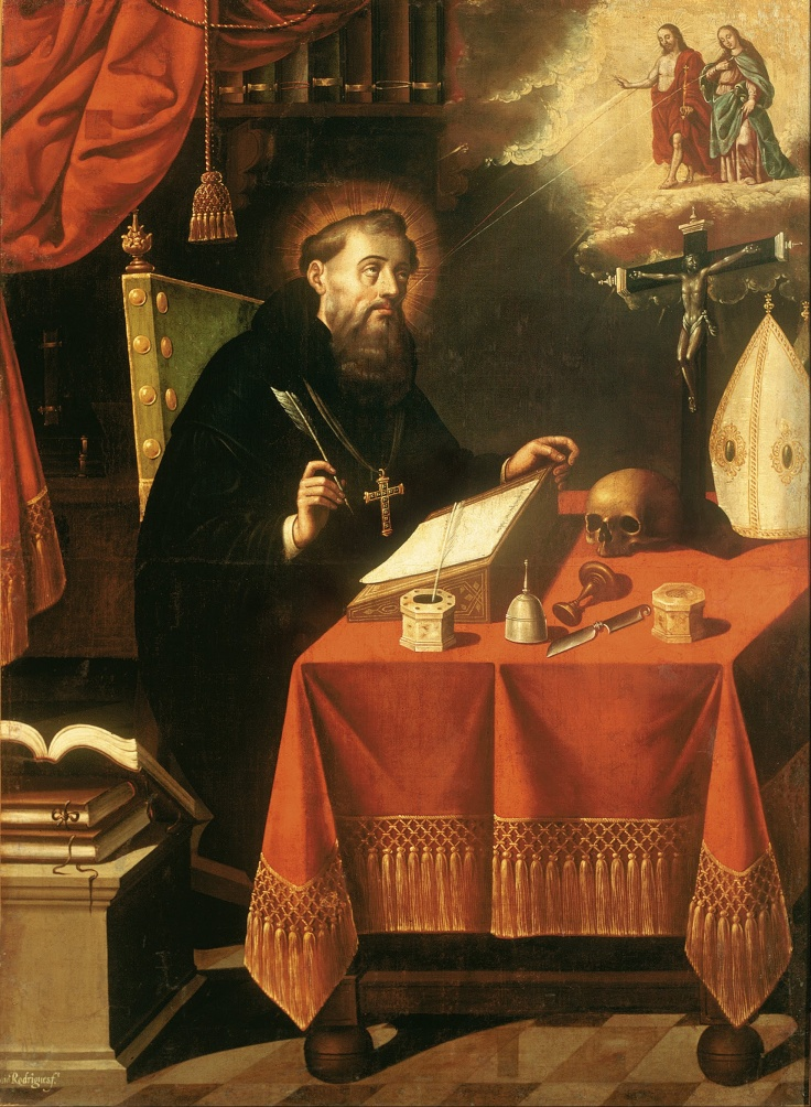 Antonio_Rodríguez_-_Saint_Augustine_-_Google_Art_Project